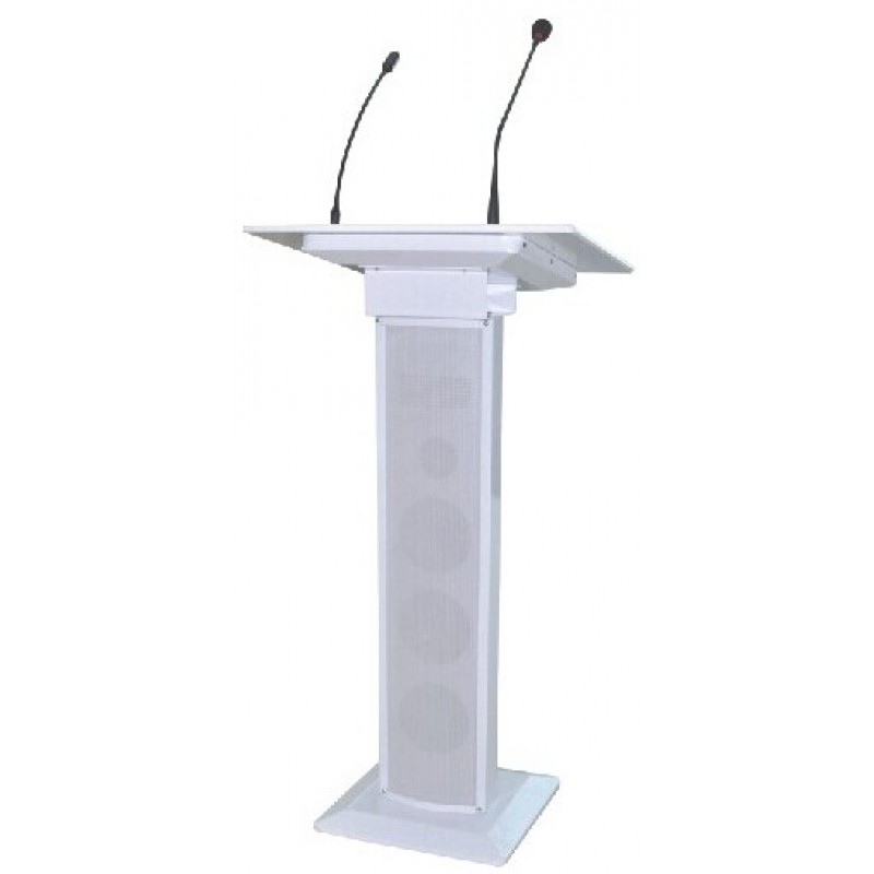 Lectern with built in PA system