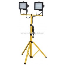 Floodlight - Double on pole stand (LED)