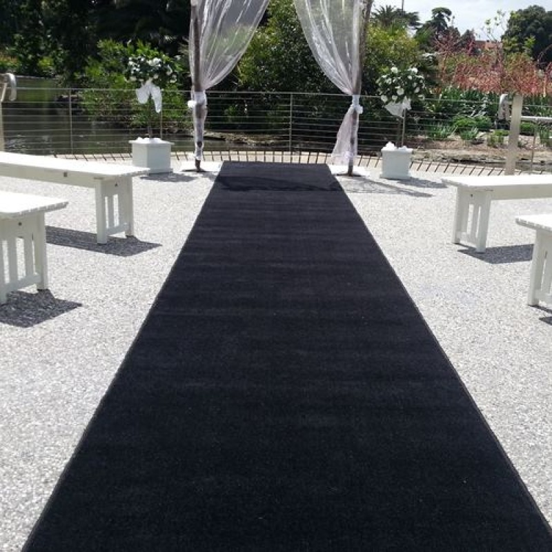 Carpet Hire - Black 10m