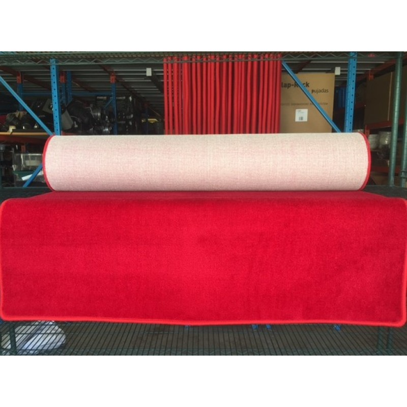 Carpet Hire - Red 3m