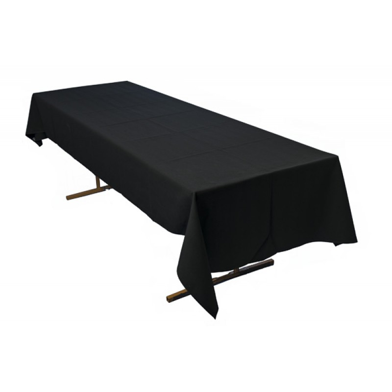 Tablecloth to Suit 2.4m Trestle - Black