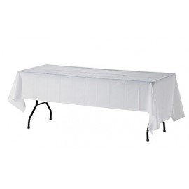 Tablecloth to Suit 2.4m Trestle - White
