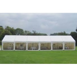 Marquee - Structure 6m x 18m - Weighted