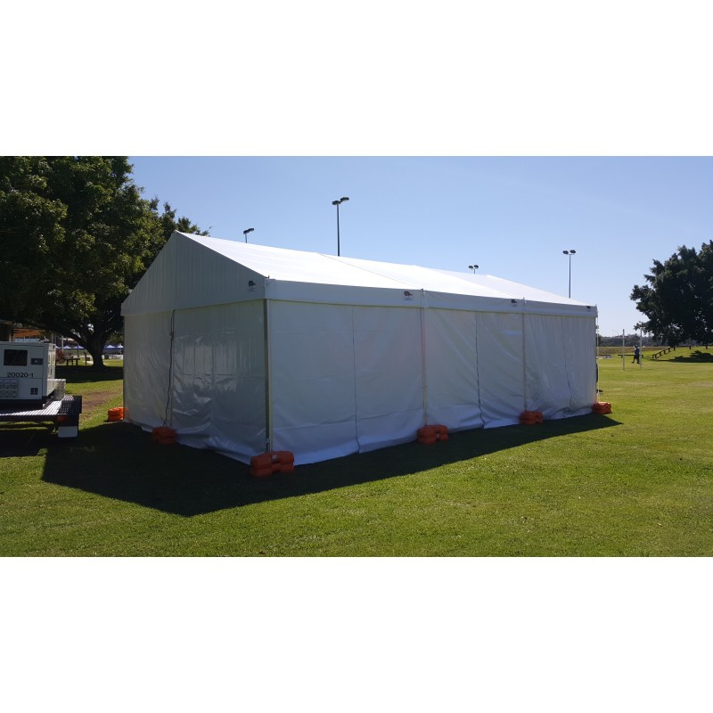 Marquee - Structure 6m x 9m - Pegged