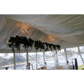 SILK LINING FOR 10M X 15M STRUCTURE MARQUEE