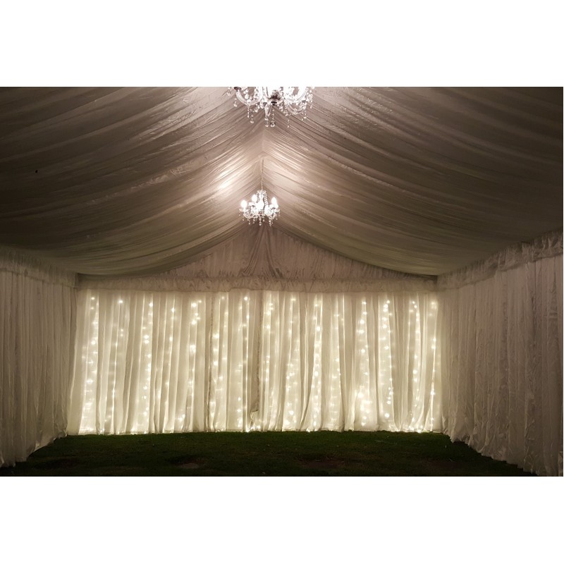SILK LINING FOR 10M X 3M STRUCTURE MARQUEE