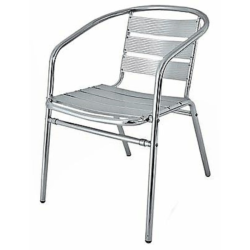 Aluminium Cafe Style Chair