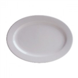 Crockery - Small Oval Plate - 210mm x 145mm