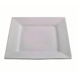 Platter - White Square Ceramic - 270mm x 270mm