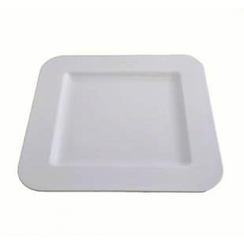 Platter - White Square - Melamine 300mm X 300mm