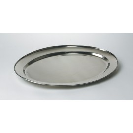 Platter - Extra Large Stainless Steel - 460mm x 650mm