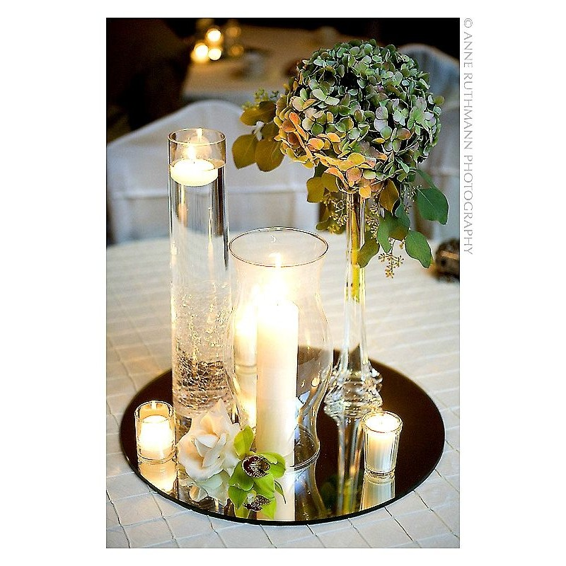 Mirror Centerpiece Round